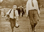 Francis Ouimet's caddy in the 1913 U.S. Open was the diminuative ten-year-old Eddie Lowery