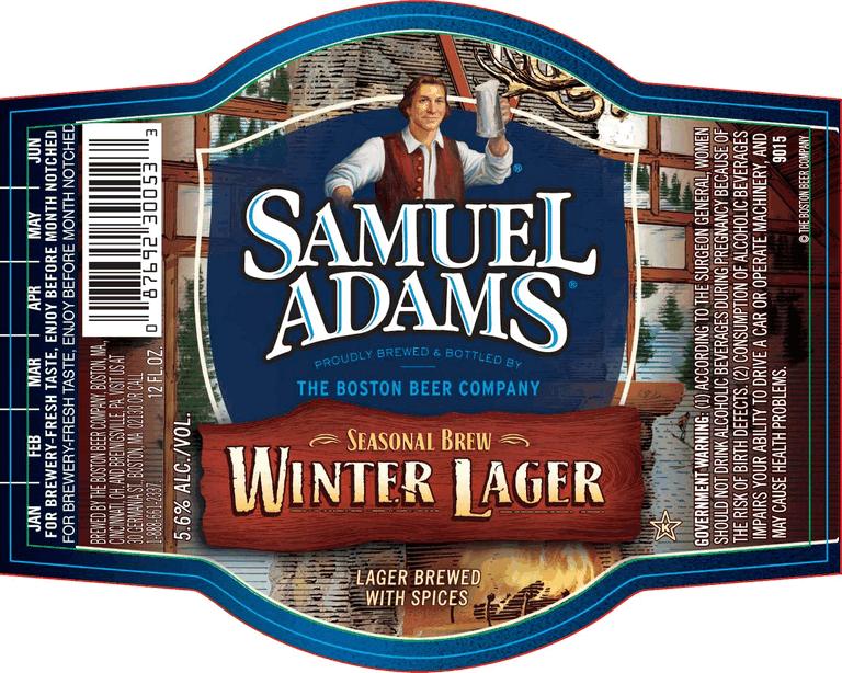 Twelve Beers Of Christmas 3 Samuel Adams Winter Lager