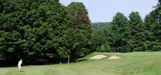 Brattleboro Country Club, hole seventeen