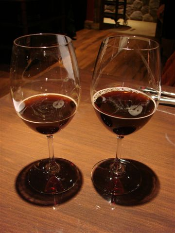 Two of the Central Waters Bourbon-barrel-aged beers