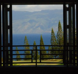 View from a Plantation House window