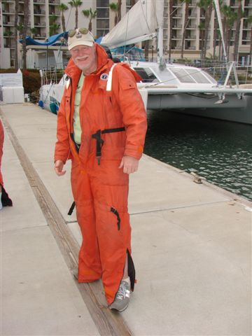 In my San Diego drinking suit. Okay, actually ready to roll on a high-speed Adventure R.I.B. Rides (U.S. Navy SEAL Deployment Rigid Inflatable Boat)