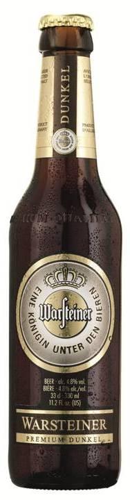 Warsteiner Premium Dunkel bottle