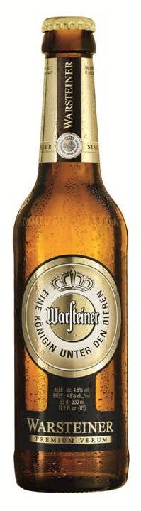 Warsteiner Premium Verum bottle