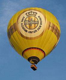 Warsteiner balloon