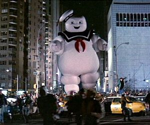 "Stay Puff Marshmallow Man from ""Ghostbusters"""