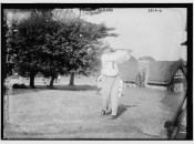 Tom McNamara in 1915 at Baltusrol