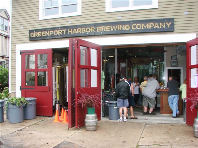 Greenport Harbor Brewing in 2009