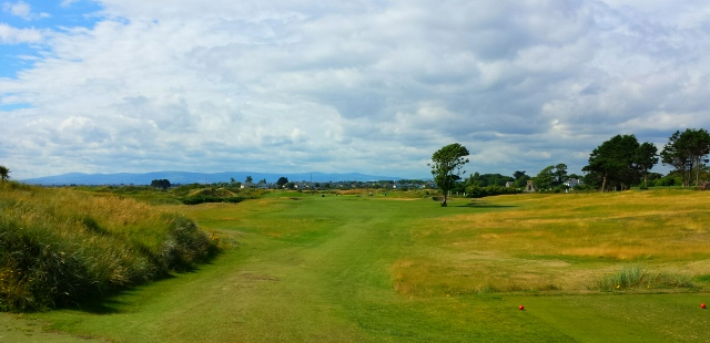Links Portmarnock, first tee