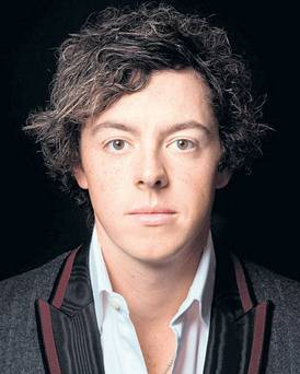 "Rory McIlroy in the ""Faces of Ireland"" series by Kevin Abosch"