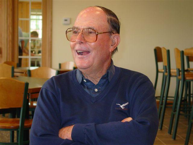 Pete Dye in 2004