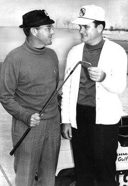 Ernie Vossler (left) and Joe Walser