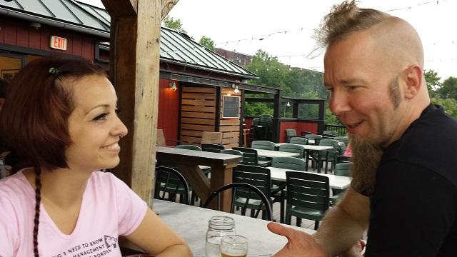 Amy and Tim Brady