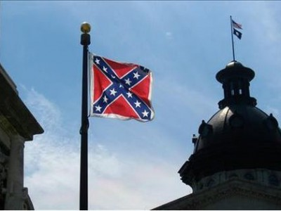 Confederate flag near state capitol, Columbia, S.C. (eyeliam CC BY 2.0/MGN)
