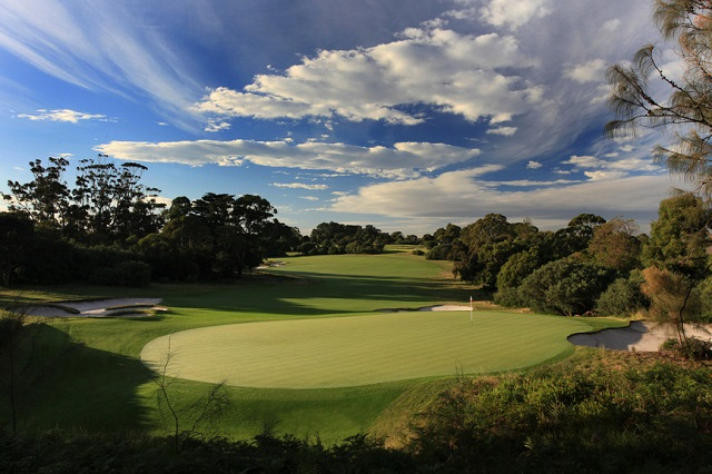 Photo courtesy Royal Melbourne Golf Course