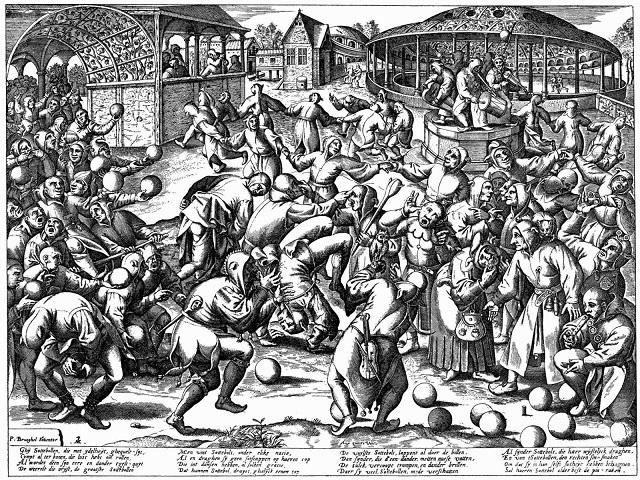 The Feast of Fools by Pieter Breugal the Elder