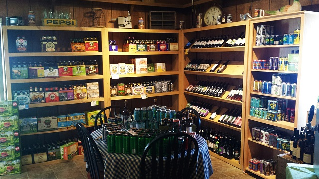 Vermont Tasting Room, Pownal, Vermont