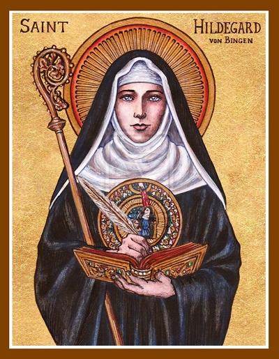 St. Hildegard von Bingen by Theophilia