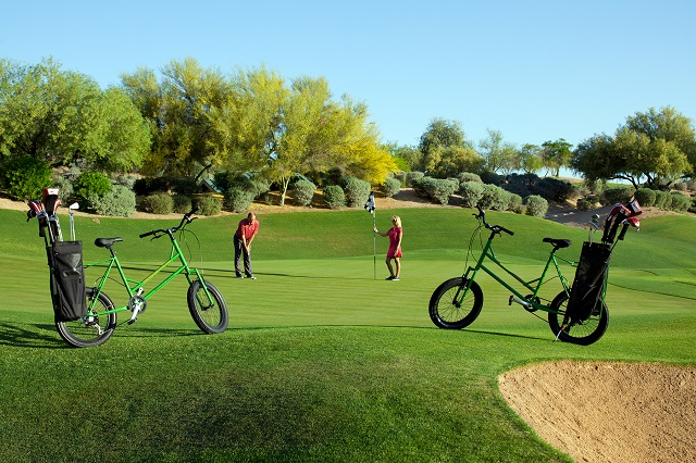 Golf Bikes at Westin Kierland