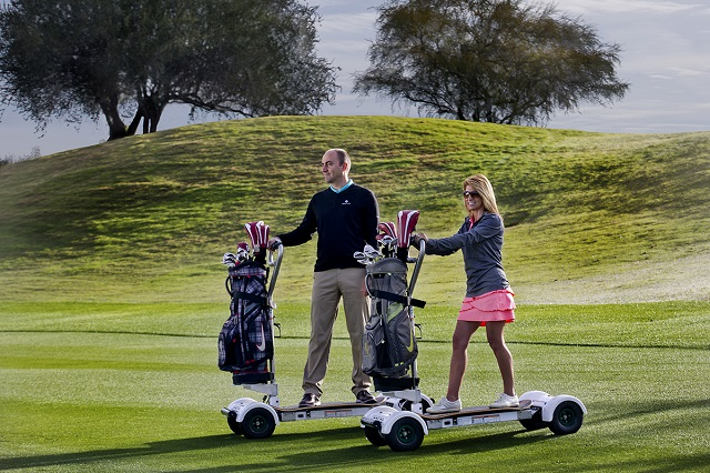 GolfBoards in use at Westin Kierland in Scottsdale, Arizona