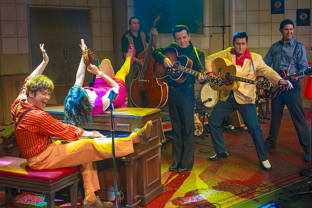 "Scene from ""Million Dollar Quartet"""