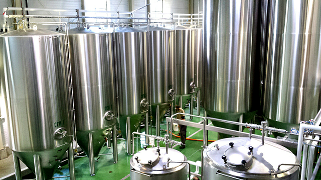 The von Trapp brewhouse
