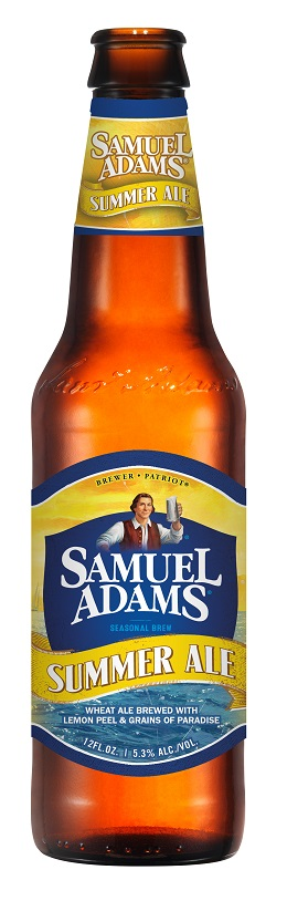 Sam Adams Summer Ale, current label