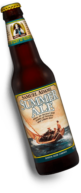 Original Sam Adams Summer Ale label