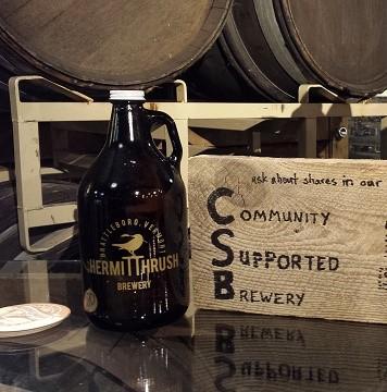 Hermit Thrush Brewery, Brattleboro, Vermont