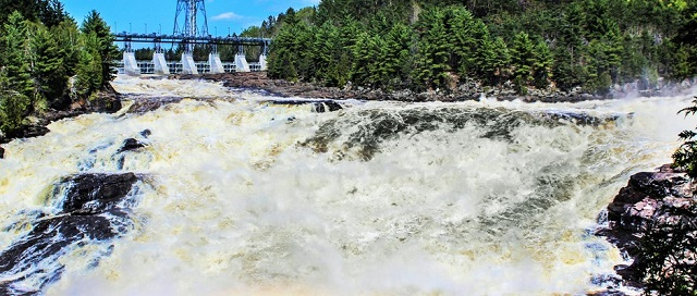 The Shawinigan Falls and Trou du Diable