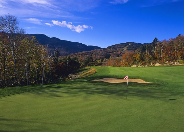 The Stowe Mountain Club Golf Course