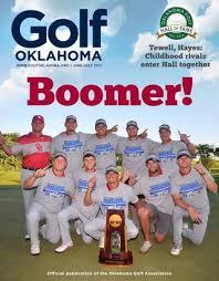 2017 Golf Oklahoma June - July