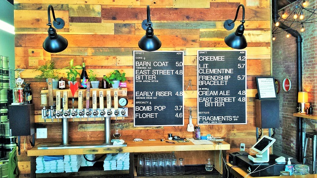 Beer offerings at Good Measure in late August