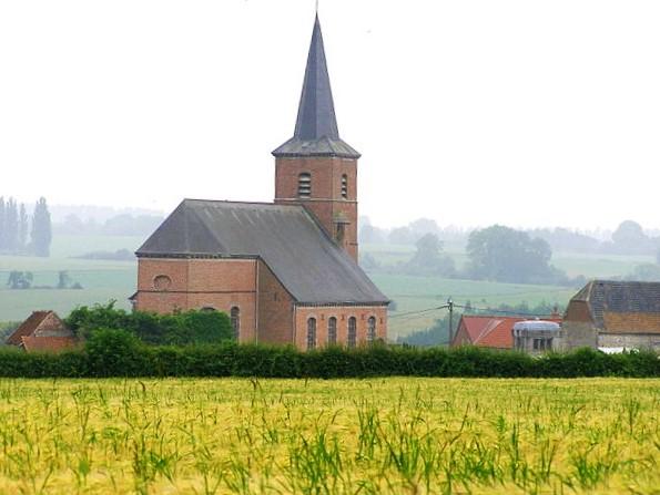 Église Saint-Médard de Gussignies