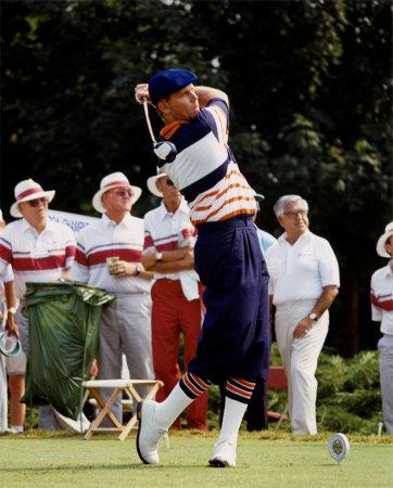 Stewart at the 1989 PGA Championship