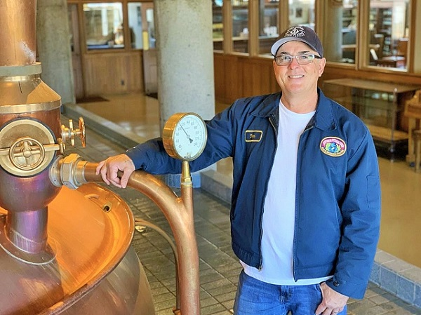 Brewmaster Tom Riley (photo courtesy of Anchor brewing)