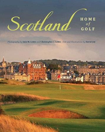 Scotland Home of Golf Book Cover
