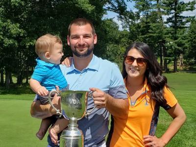2021 VGA Mid-Am Champion Cory Jozefiak, en famille