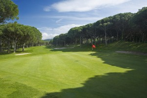 Fairways at Golf Platja de Pals are defined by century-old pines