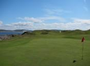 The natural look: the 8th hole at Narin & Portnoo