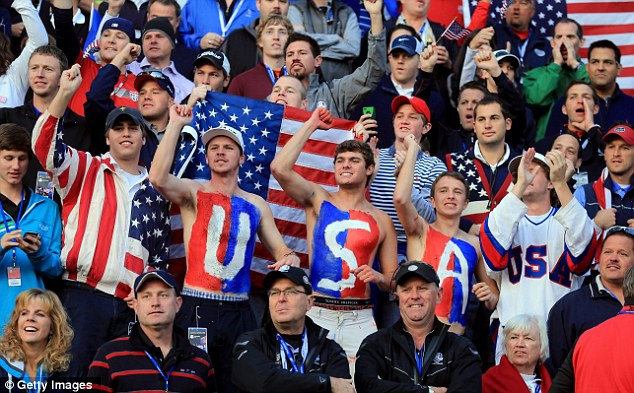 The less jingoism (as here at the 2012 Ryder Cup) the better (Getty Images)