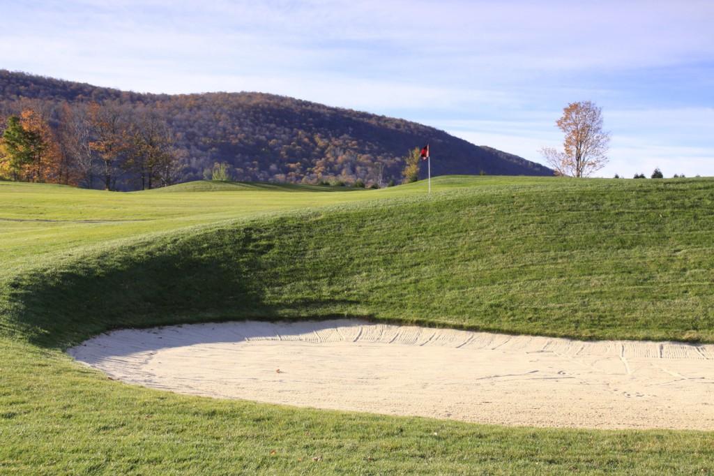 The new 10th hole at Waubeeka. Photo: Tom Harack