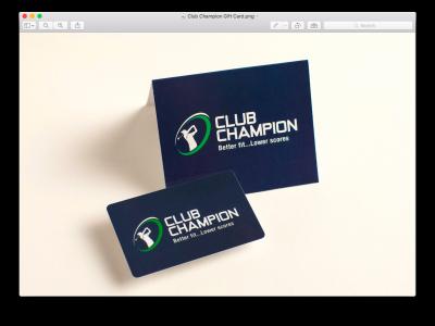 Club Champion Gift Card