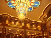The grand, fanciful lobby of the hotel of the year: The Disney Dream   photo credit Harrison Shiels
