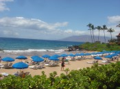 Snorkeling, sunning, swimming in the Maui surf is soothing on Fairmont Kea Lani Hawaiian beach.