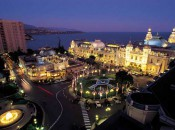Hotel de Paris and the Grand Casino in Monte Carlo and frequented by James Bond and the actors who play him.