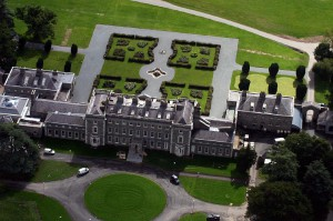 Carton House, at 835-years old, is now a premier resort hotel and spa near Dublin.