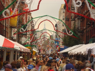 "New York City's ""Little Italy"" thrives with colorful culture and food"