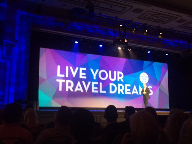 Virtuoso CEO Matthew Upchurch took to the stage in front of 4,000 travel industry professionals this week.