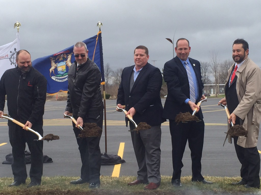 """Firekeepers broke ground on a new guest service called """"Firekeepers Pit Stop,"""" a snazzy gas station, car wash, and upscale convenience store."""